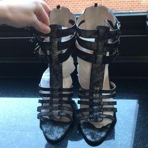 SJP by Sarah Jessica Parker Lola Metallic Heel